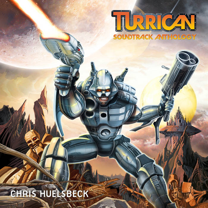 Turrican Soundtrack Anthology Vol. 1 cover art