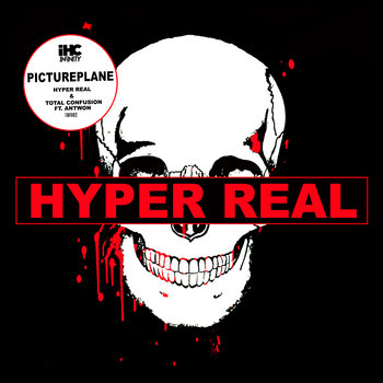 HYPER REAL/TOTAL CONFUSION single cover art