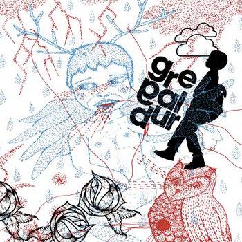 """GREGALDUR 7"""" cover art"""