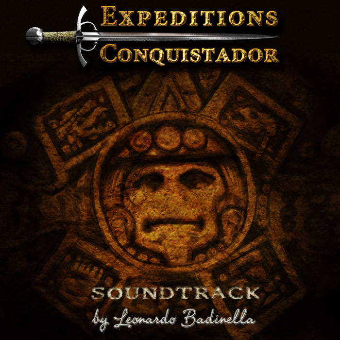 Expeditions: Conquistador Soundtrack cover art