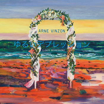 """Arne Vinzon """"Lente Dépression"""" version japonaise + Hypo & EDH remix cover art"""