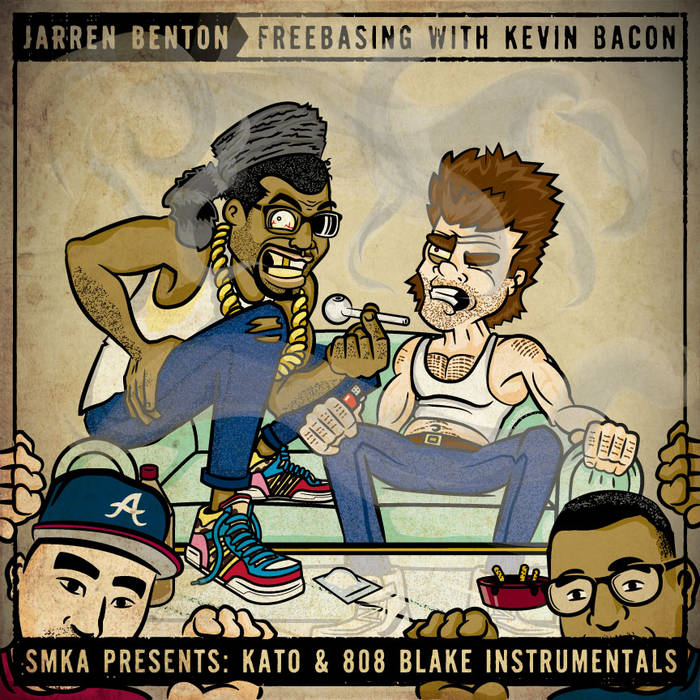 Freebasing With Kevin Bacon [SMKA Instrumentals] cover art