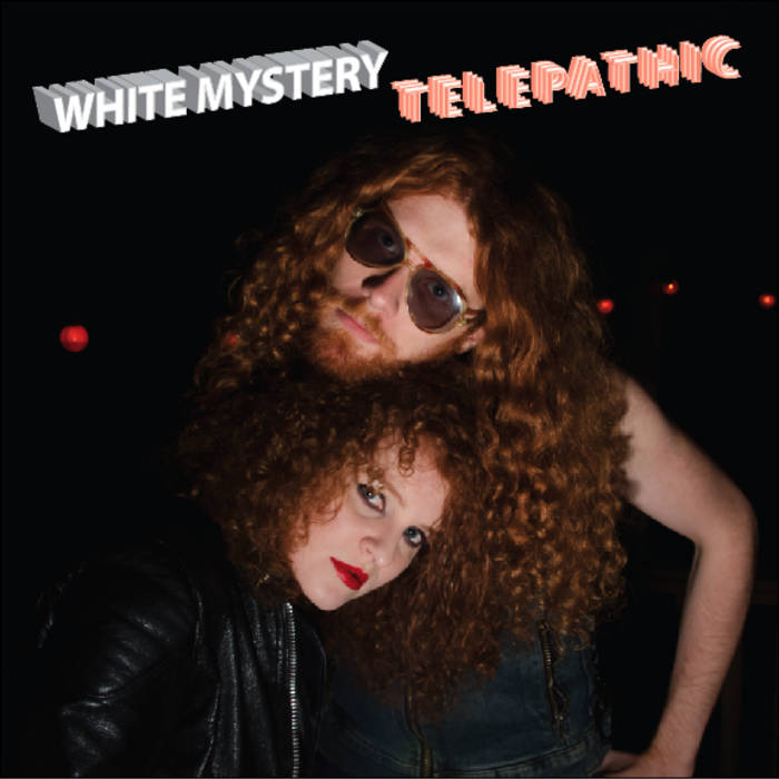 White Mystery TELEPATHIC cover art