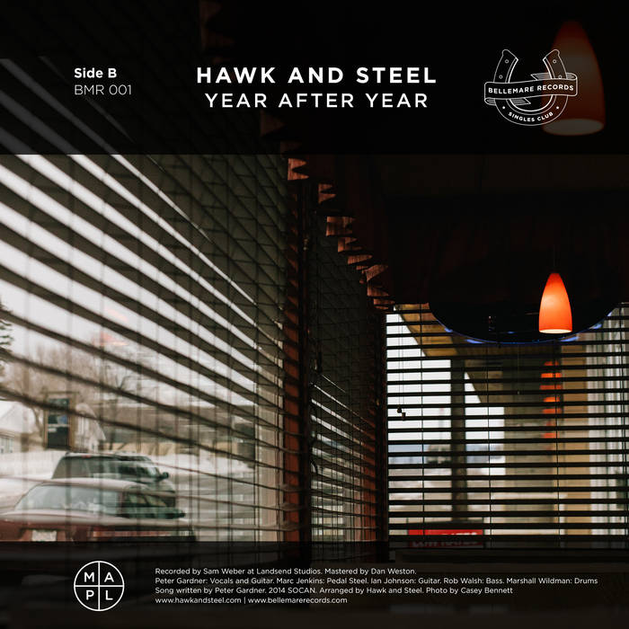 Snoqualmie / Hawk And Steel Split cover art