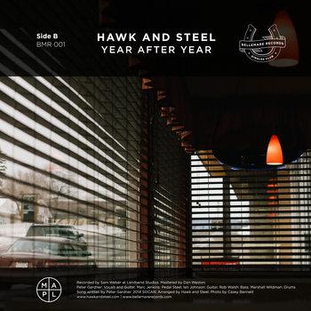 Snoqualmie / Hawk And Steel Split cover art