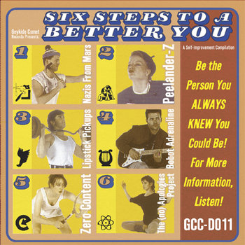 Six Steps to a Better You compilation cover art