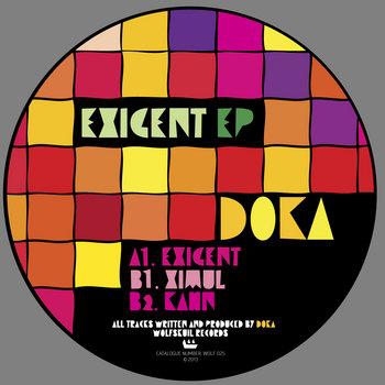 Doka | Exigent EP | WOLF025 cover art