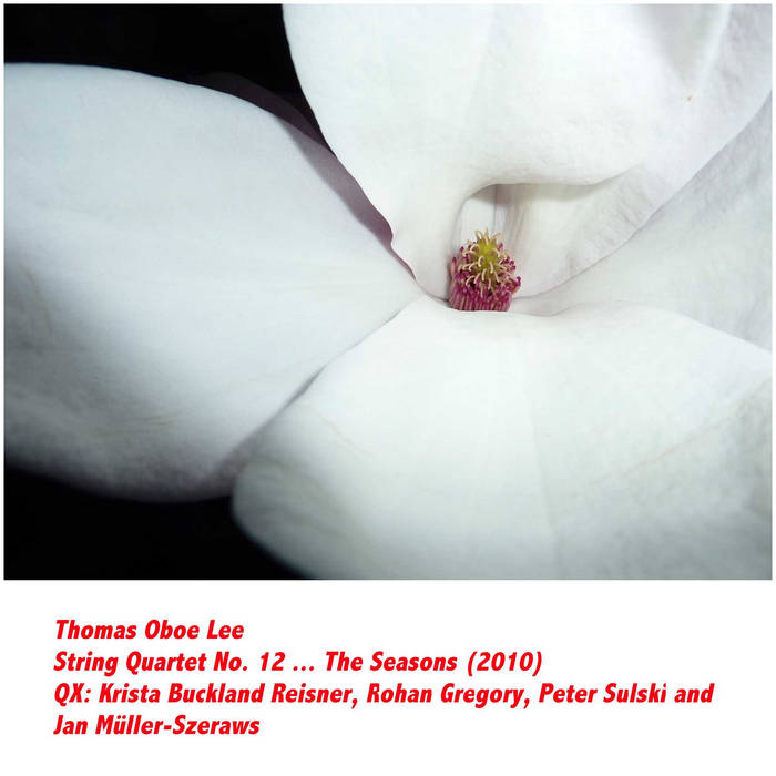 String Quartet No. 12 ... The Seasons (2010) cover art