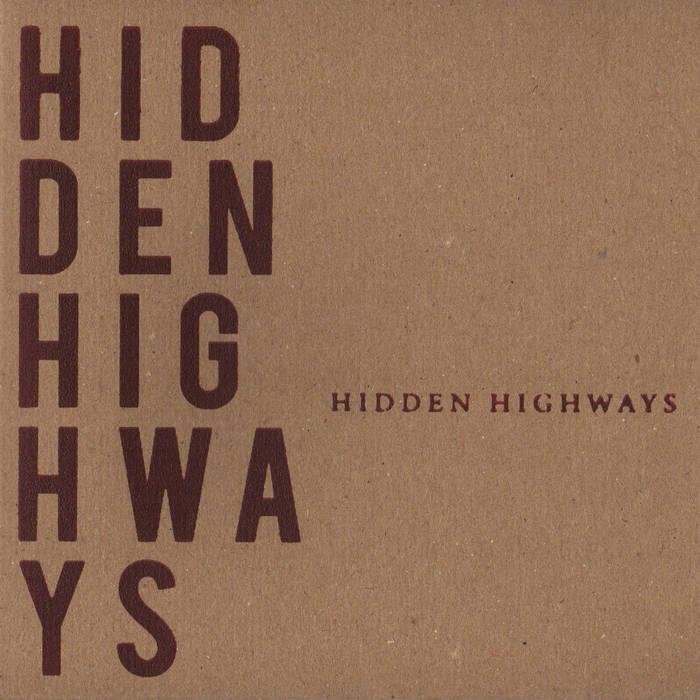 Hidden Highways EP cover art