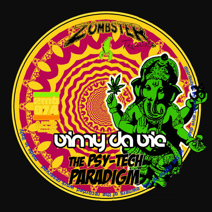 [ZMB074] Vinny Da Vie - The Psy-tech Paradigm cover art