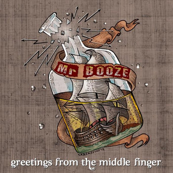 Greetings from the middle finger cover art