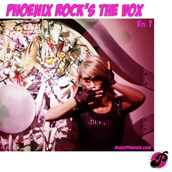 Phoenix Rock's The Vox - Covers vol. 1 cover art