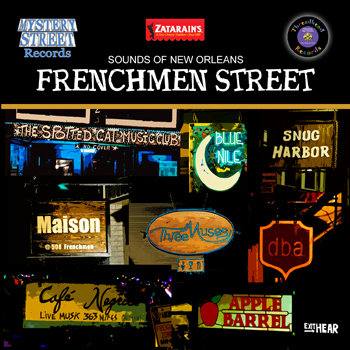 Frenchmen Street (Sounds of New Orleans, Volume 1) cover art