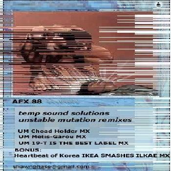 unstable mutation remixes cover art