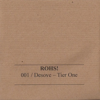 [.ROHS!001 CD/ Desove - Tier One] cover art
