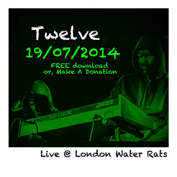 LIVE at Water Rats LONDON 19/07/14 cover art