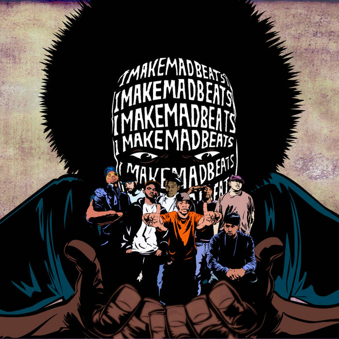 IMAKEMADBEATS cover art