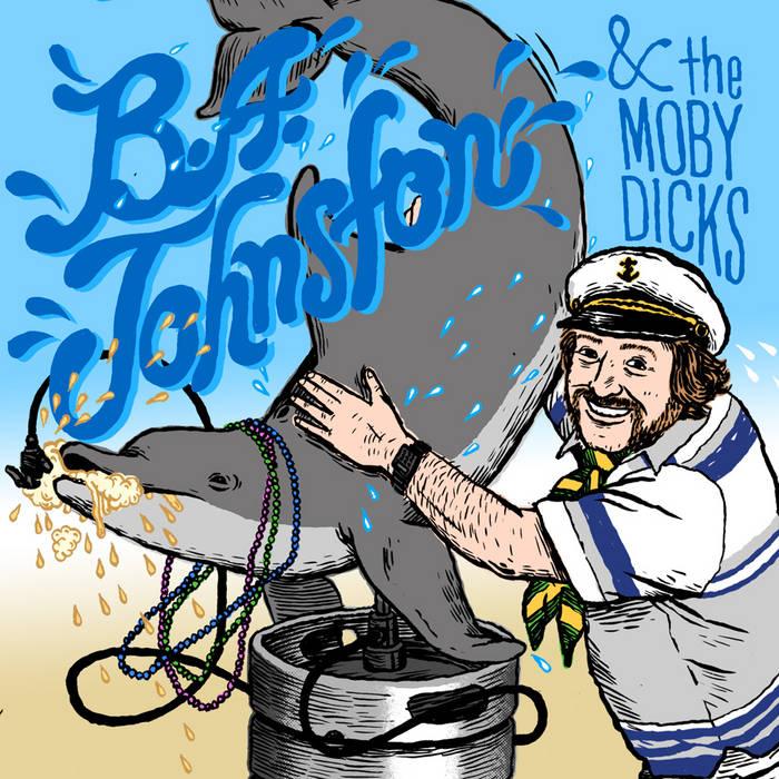 MCR020 - B.A. Johnston & The Moby Dicks cover art