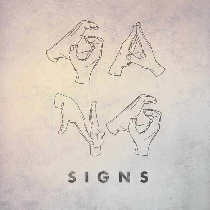GANG SIGNS self titled EP cover art