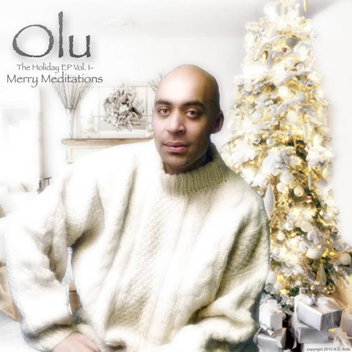 Olu- The Holiday EP Vol. 1: Merry Meditations cover art