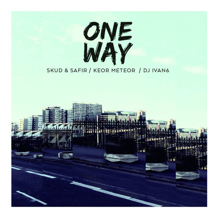 Skud & Safir - One Way EP cover art
