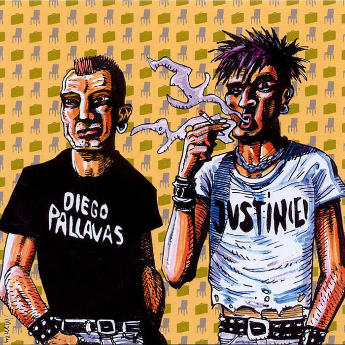Diego Pallavas + Justin(e) - Guerilla Split Series Vol2 cover art