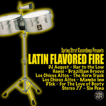 Latin Flavored Fire cover art