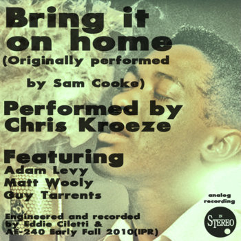 Bring it on home feat. adam levy, matt wooly & guy tarrents cover art