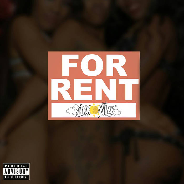 """""""For Rent"""" non-mastered (Prod. LAKIM x Sir CRKS) cover art"""