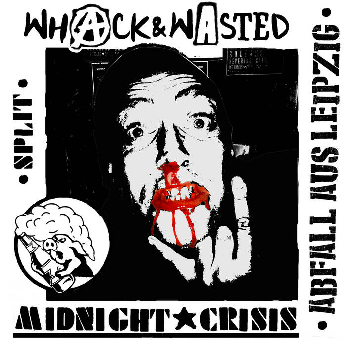 ABFALL AUS LEIPZIG Split w/ Whack & Wasted cover art