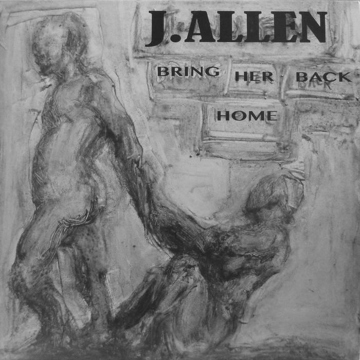 Bring Her Back Home b/w L.B.C. 7 inch vinyl single cover art