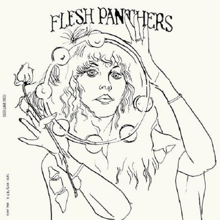 Flesh Panthers LP cover art