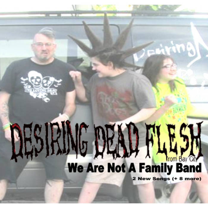 We Are Not A Family Band cover art