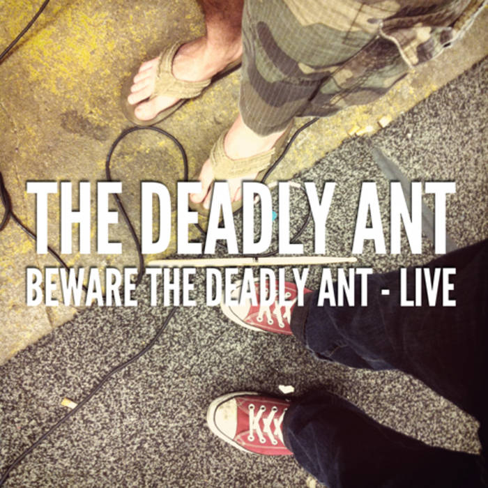 Beware the Deadly Ant - Live cover art