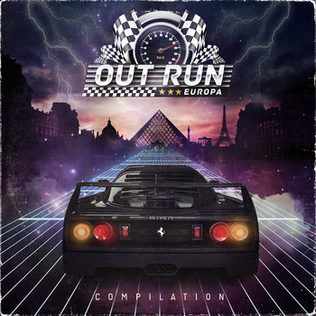 Outrun Europa Compilation cover art