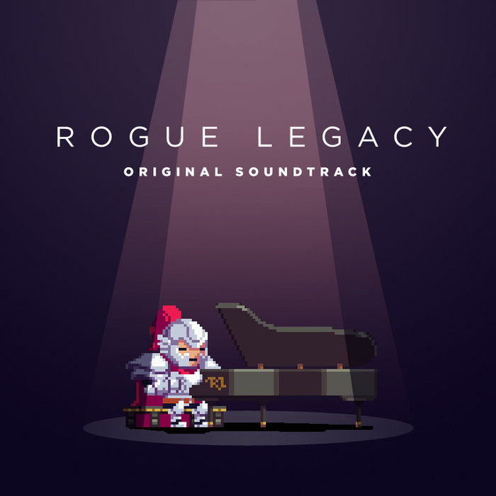 Rogue Legacy OST cover art