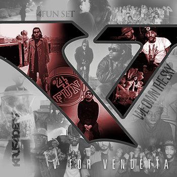 V FOR VENDETTA cover art