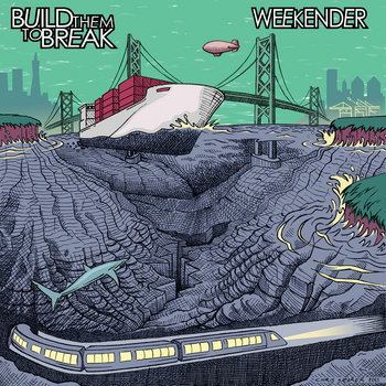 Weekender & BTTB - Split EP cover art