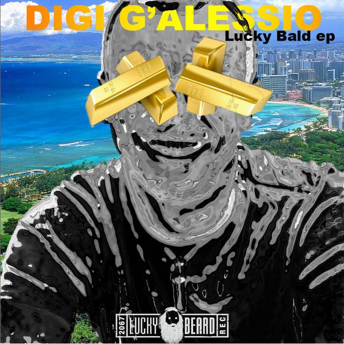 lucky bald EP cover art