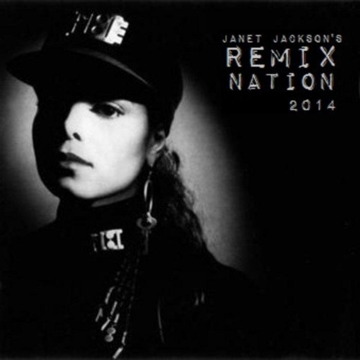 Janet Jackson's Remix Nation 2014 cover art