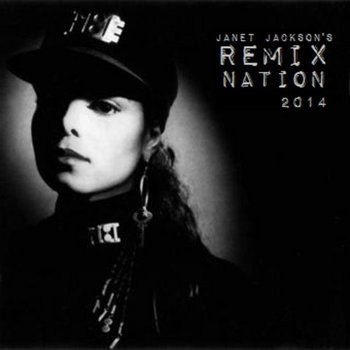 Janet Jackson's Remix Nation 2014 cover art