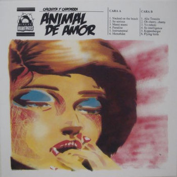 "Chiquita y Chatarra ""Animal de Amor"" cover art"