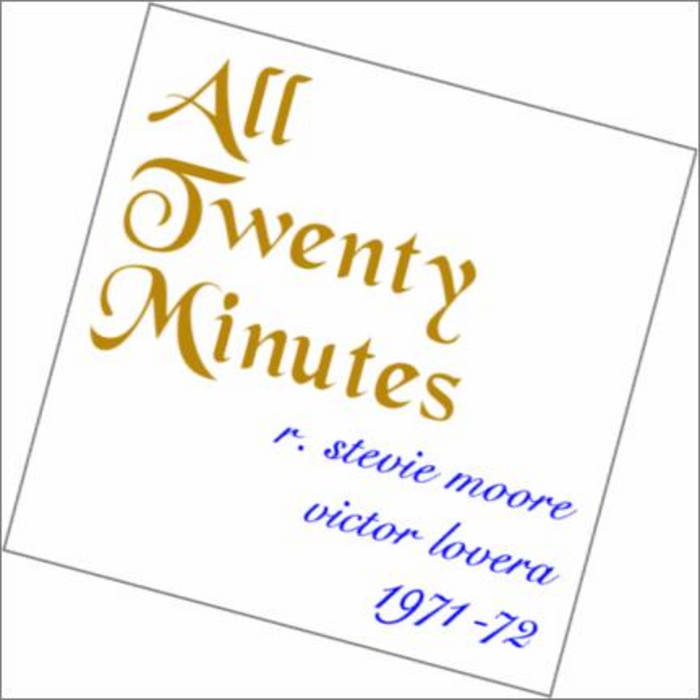All Twenty Minutes cover art