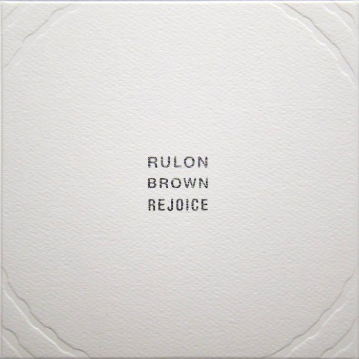 Rejoice cover art