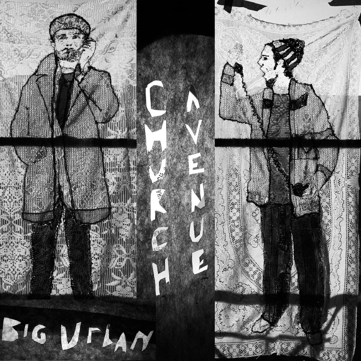 Big Urban's album cover for Church Avenue