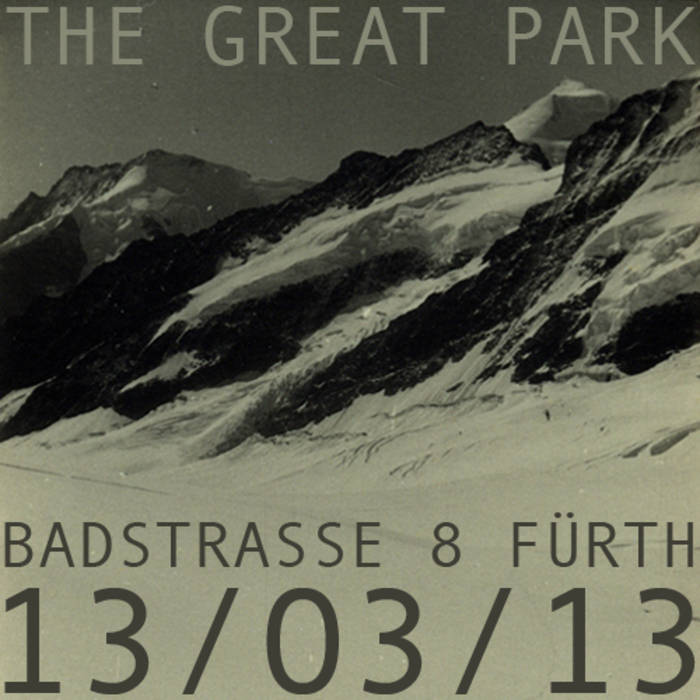 13/03/13 Badstrasse 8, Fürth, Germany cover art