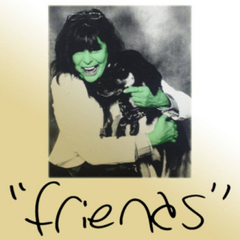 """""""friends"""" EP cover art"""