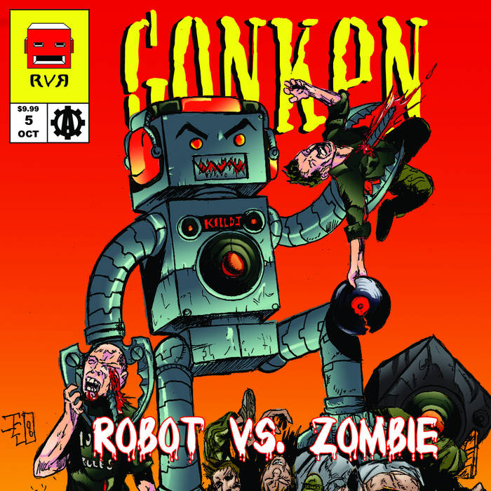 Robot vs. Zombie cover art