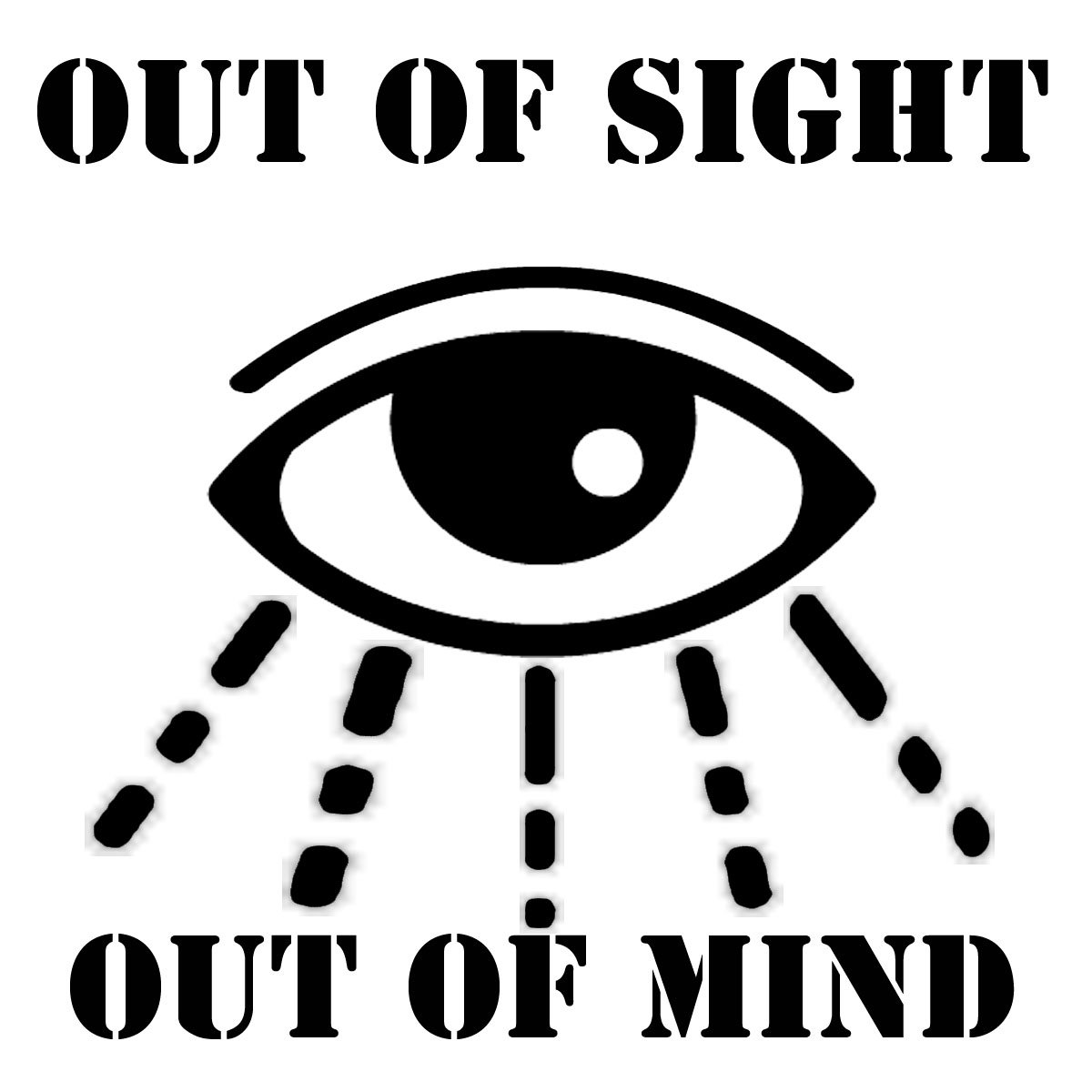 out of sight out of mind Out of sight, out of mind was the 101st episode of the mash television series, and the fourth episode of the fifth season written by ken levine and david isaacs.