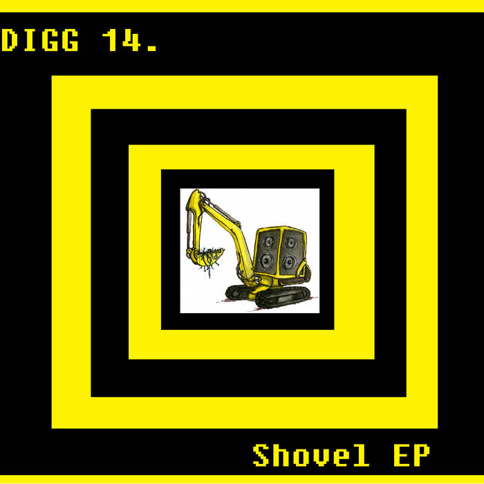 Digg 14 - Shovel Compilation cover art